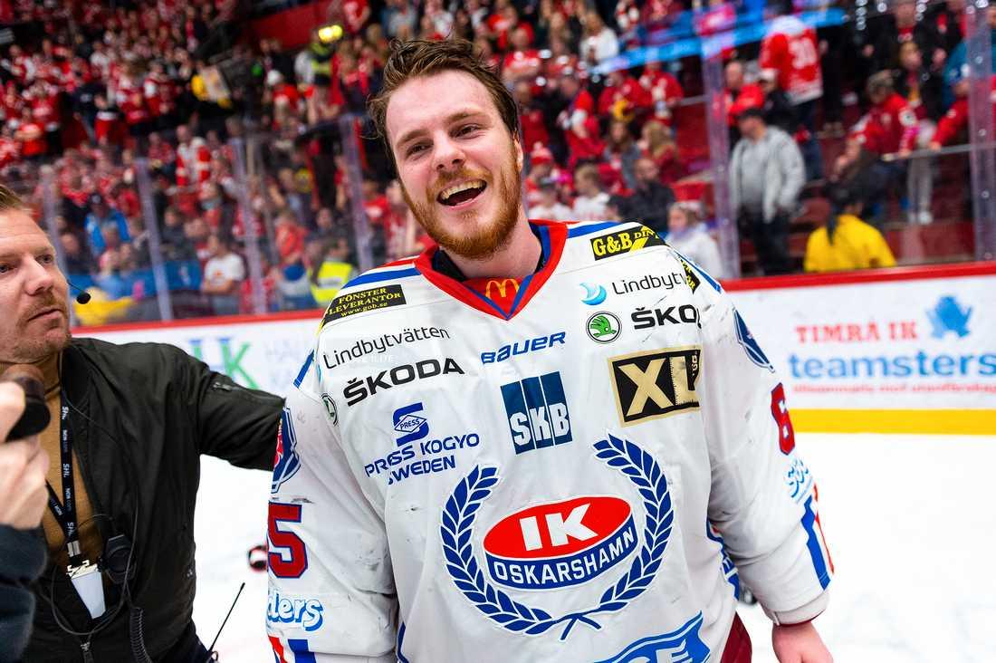 Christoffer Rifalk vill lämna IK Oskarshamn