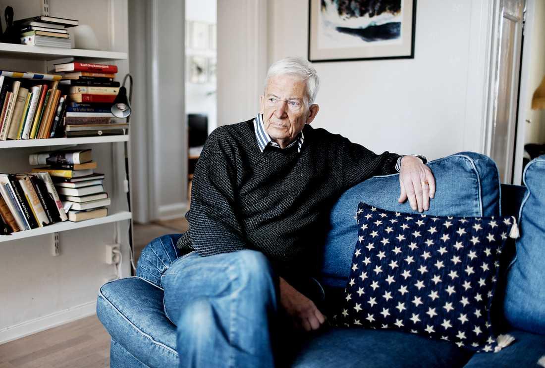 Författaren PO Enquist blev 85 år gammal.