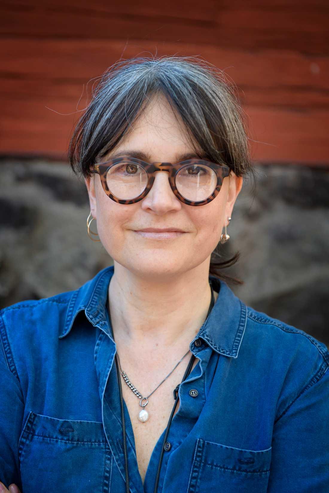 Manusförfattaren Cilla Jackert tycker att fler upphovspersoner borde prisas på tv-galan Kristallen. Arkivbild.