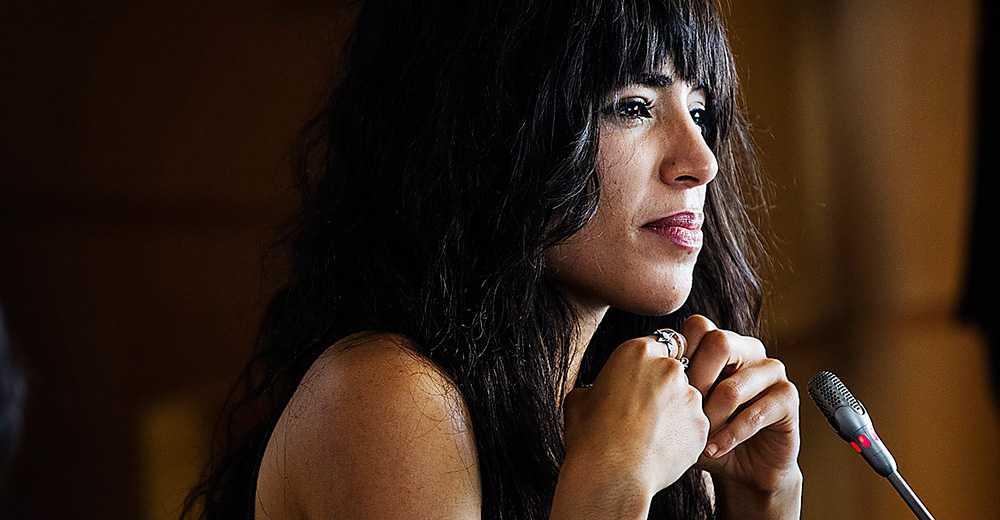 Loreen Talhaoui kritiserade makten i Azerbajdzjan före Eurovision 2012 – trots risken att diskas från tävlingen.