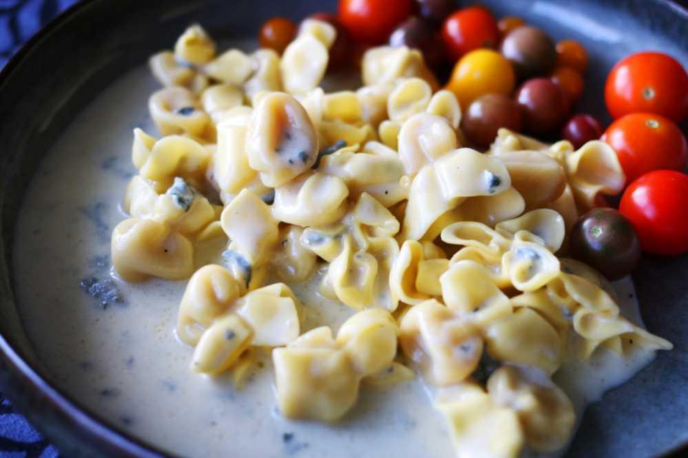 Tortellini i gorgonzolasås