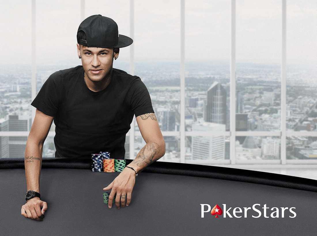 Barcelonastjärnan Neymar är klar som ny ambassadör för speljätten Pokerstars.