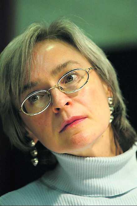 Politkovskaja.