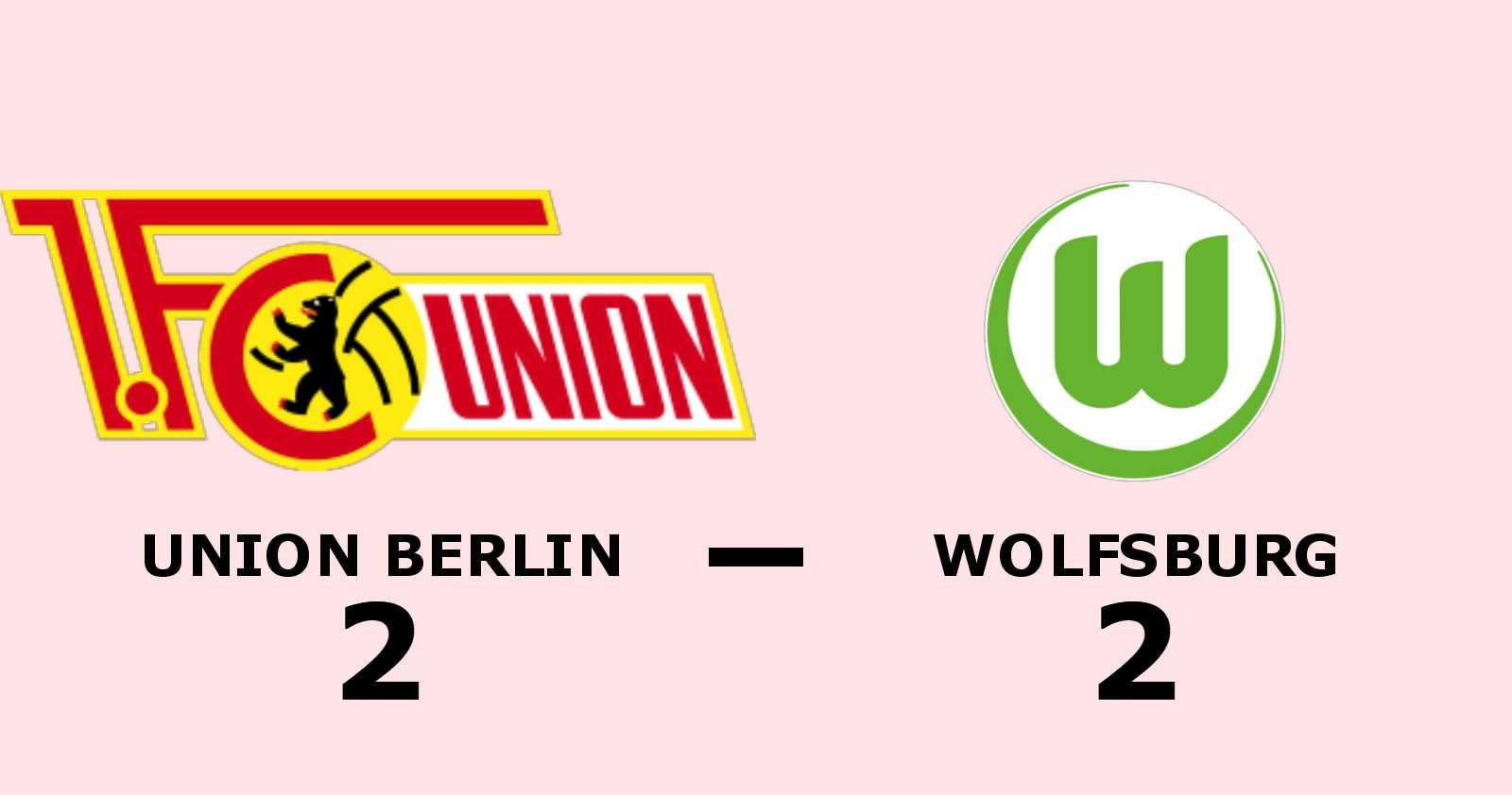 Wolfsburg hämtade i kapp underläge och kryssade mot Union Berlin