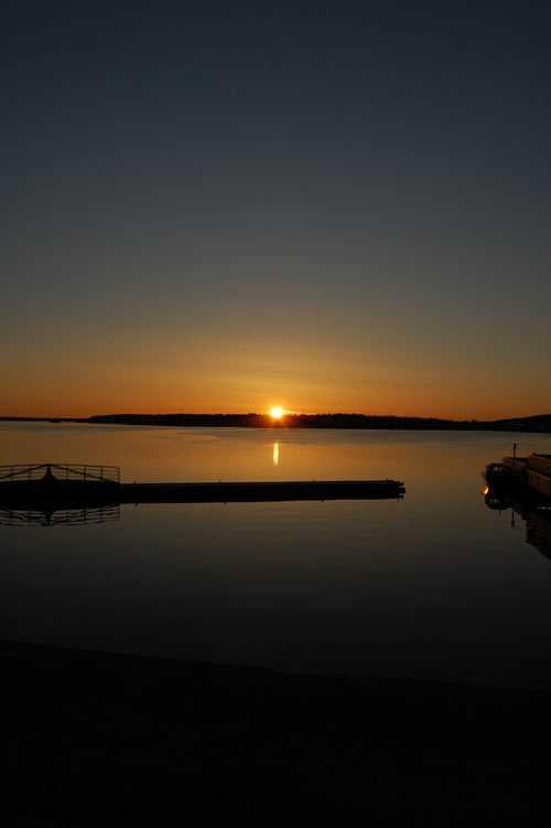 """Solnedgång i Luleå"""