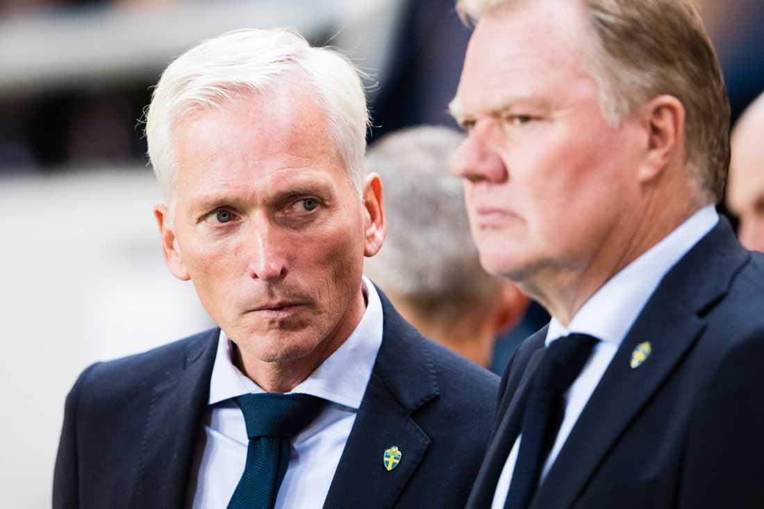 Håkan Sjöstrand och Karl-Erik Nilsson.