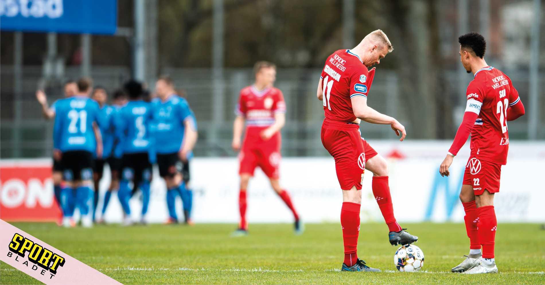Gräsligt bråk mellan Haglund, Nilsson och Hamsik