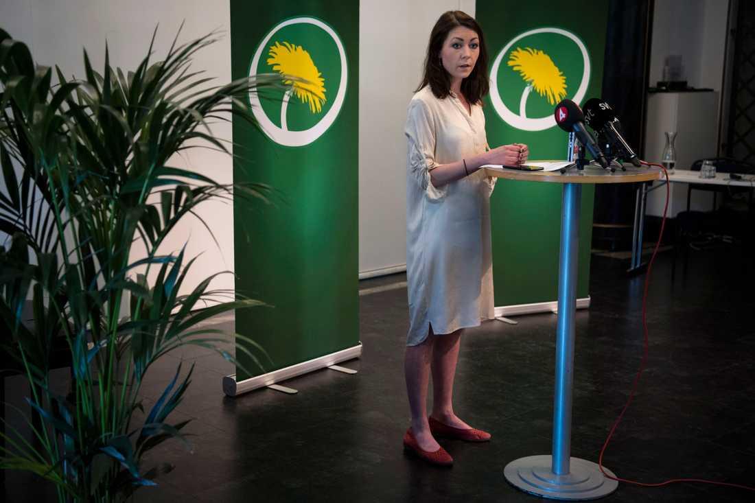 Maria Ferm, miljöpartiets talesperson i migrationspolitiska frågor