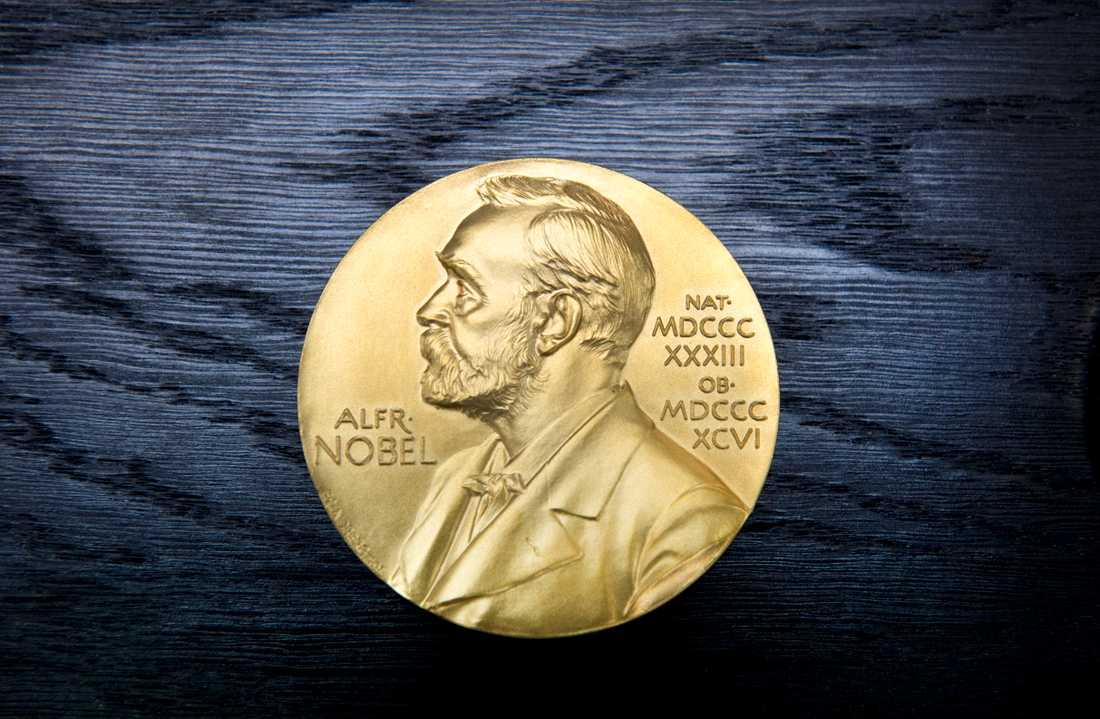 Nästa vecka tillkännages vilka som får årets Nobelpris. Förutom en diger prissumma får varje pristagare också en medalj i massivt 18 karats guld. Arkivbild.