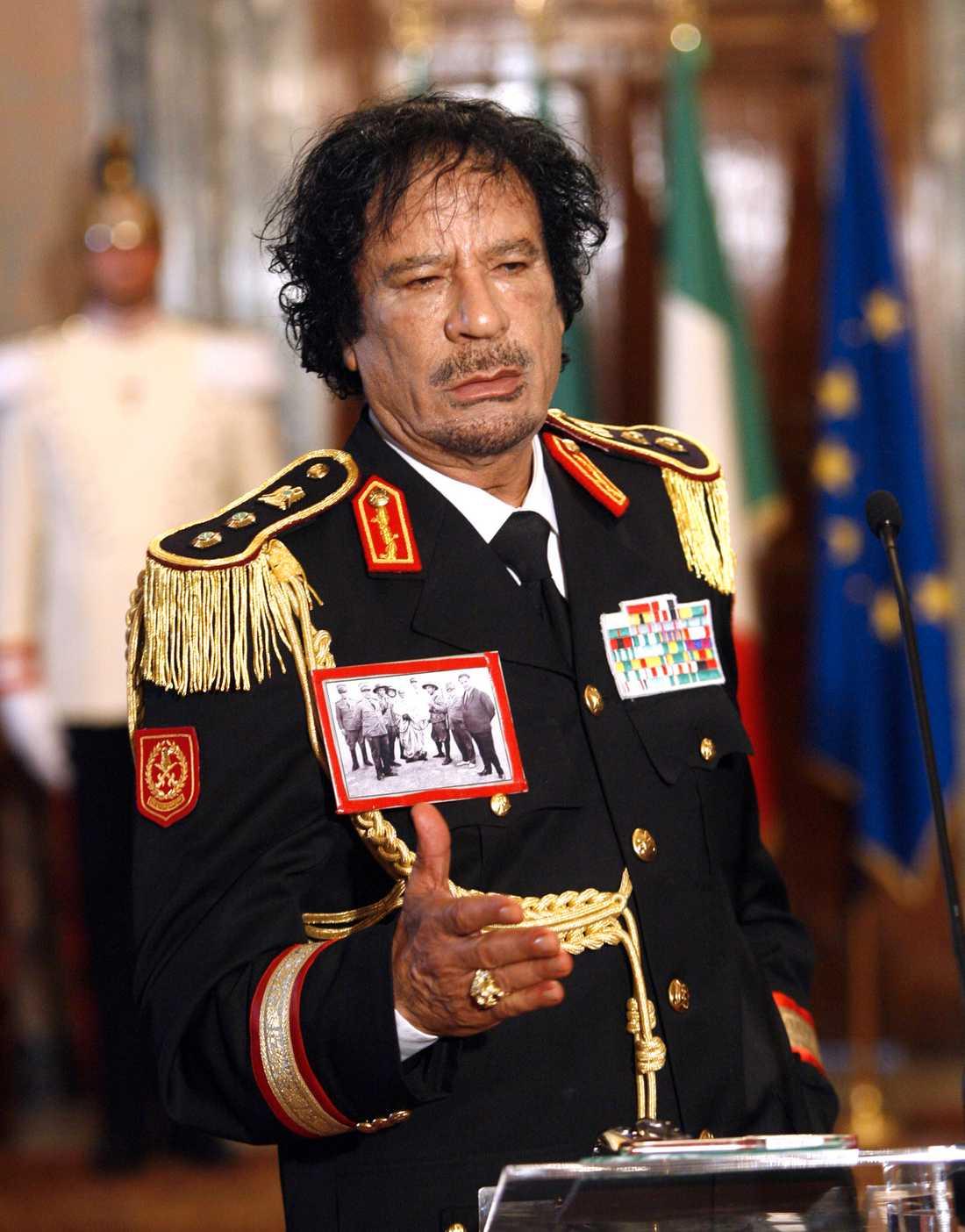 BORTA Mynten tillhörde nationella affärsbanken i Benghazi. Stölden troddes först vara en del av revolten mot Gaddafi.