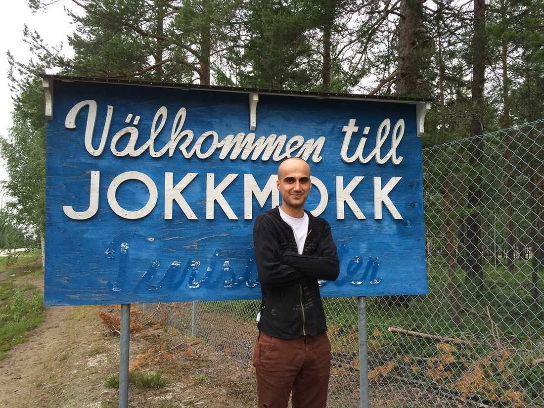Danyar har bott i Jokkmokk i sju år.