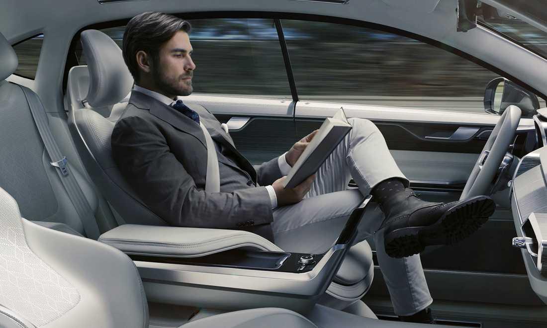 Concept 26 visar hur inredningen i en självkörande bil kan se ut.