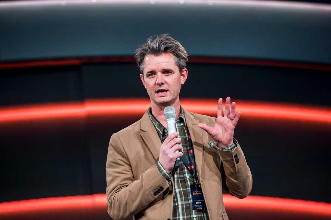 """Hans Abrahamsson, exekutiv producent för """"Stjärnornas stjärna"""" på TV4."""