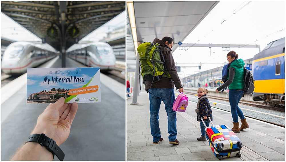 Allt fler barnfamiljer skaffar ett Interrailkort och reser genom Europa.