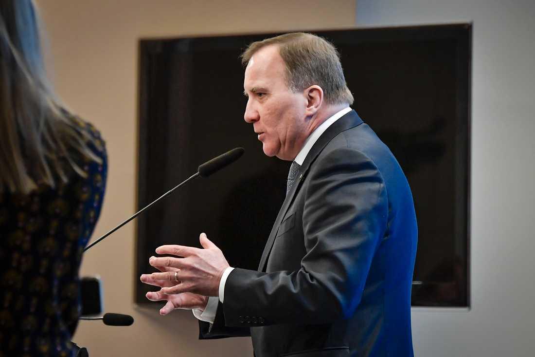 Statsminister Stefan Löfven tror att vaccinationsmålen kommer att klaras, i tid.