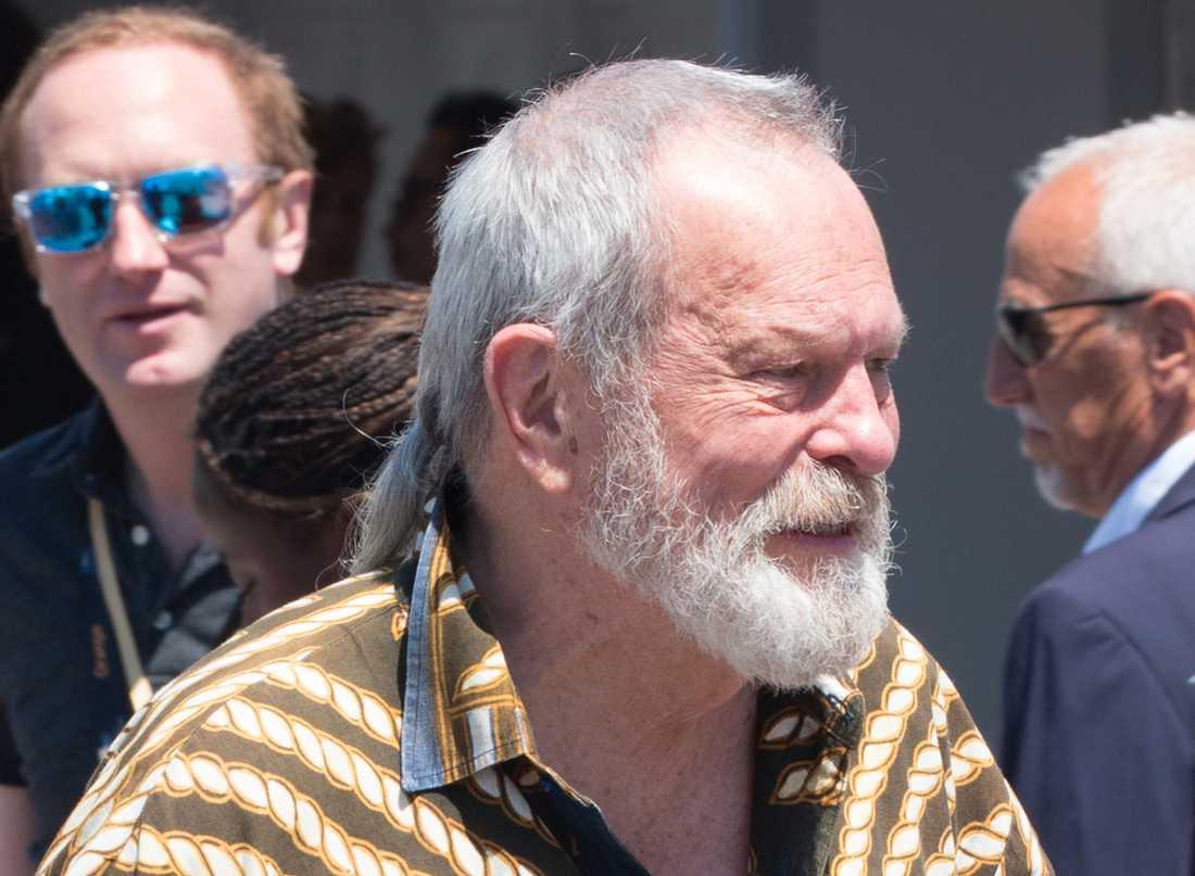 Terry Gilliam i Cannes.