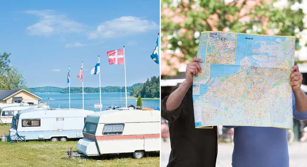 Utländska turister gillar Sverige.