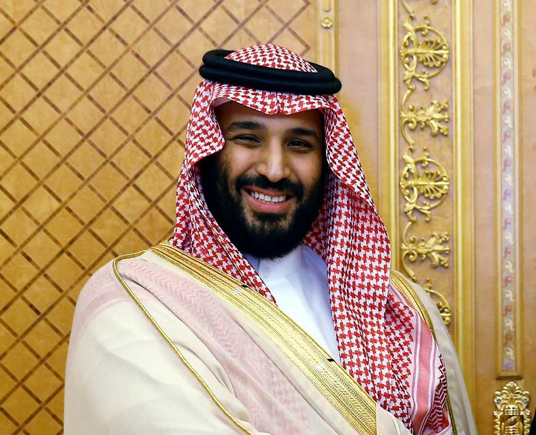 Prins Mohammed bin Salman.