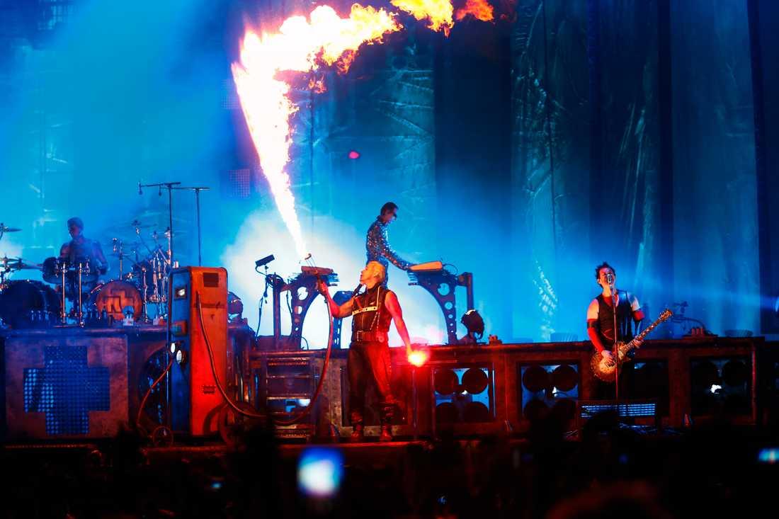 Rammstein eldar på 2013.