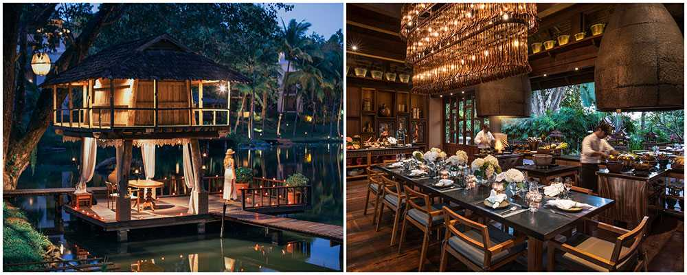 Four Seasons Chiang Mai i Thailand bjuder på julstämning.