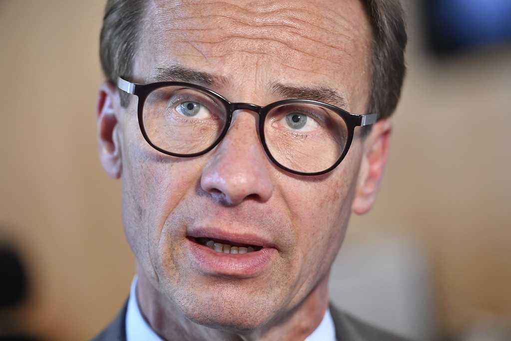 Ulf Kristersson, partiledare Moderaterna.