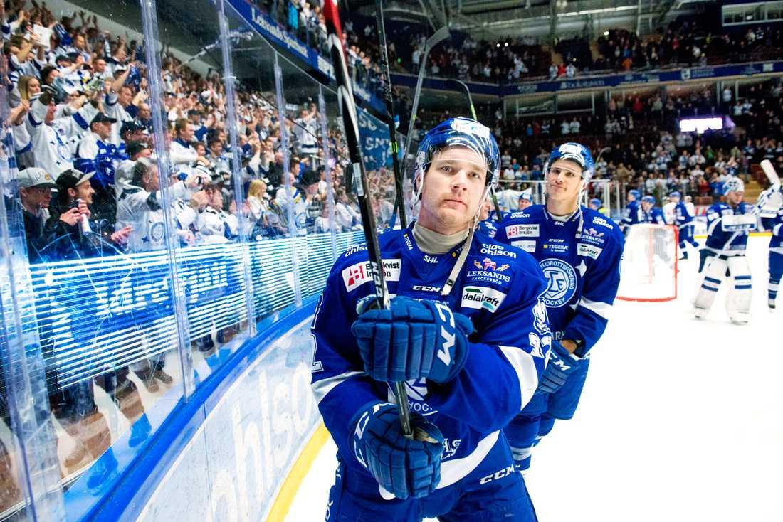 Jens Bergenström har spelat flera säsonger i SHL med Leksand.