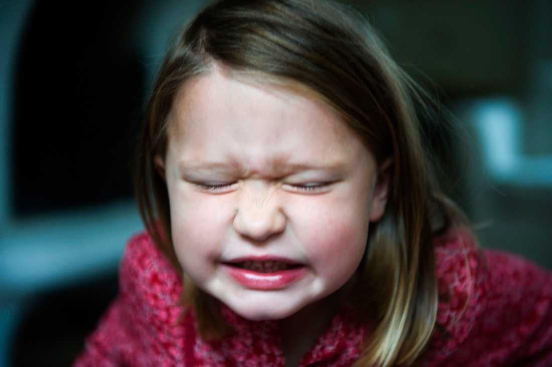 Trotsåldern inleds ofta i tvåårsåldern.