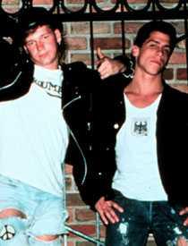 Donnie och Danny på den gamla goda tiden.