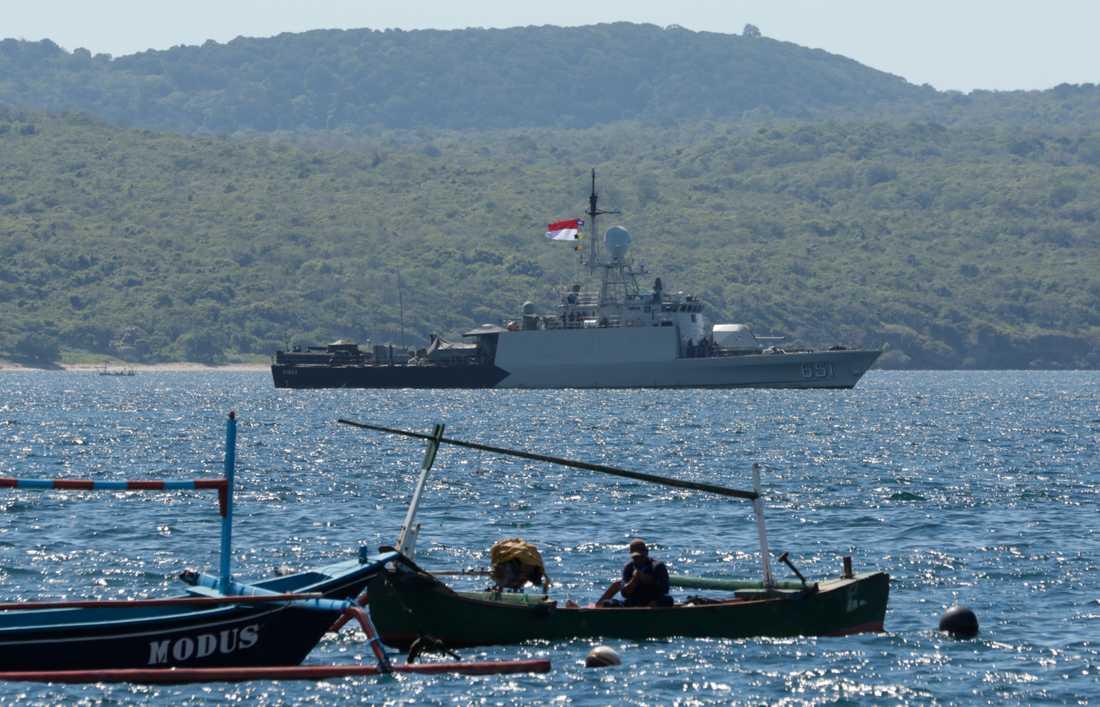 Ubåten KRI Nanggala-402 försvann natten mot igår, svensk tid.