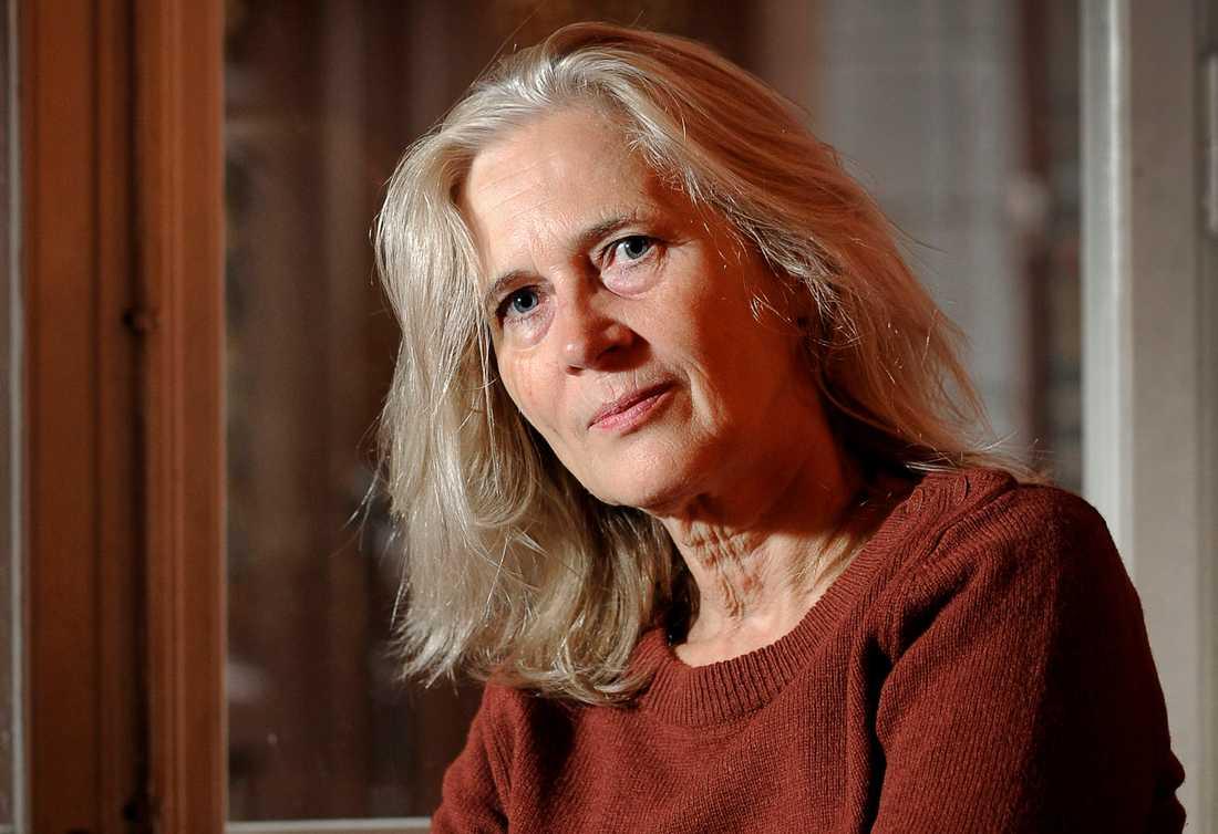 Akademiledamoten Katarina Frostenson.