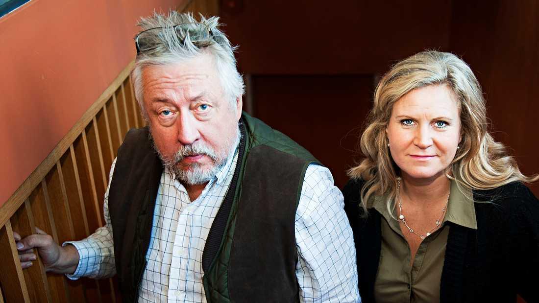 """Leif GW Persson och Camilla Kvartoft har lett """"Veckans brott"""" i SVT."""