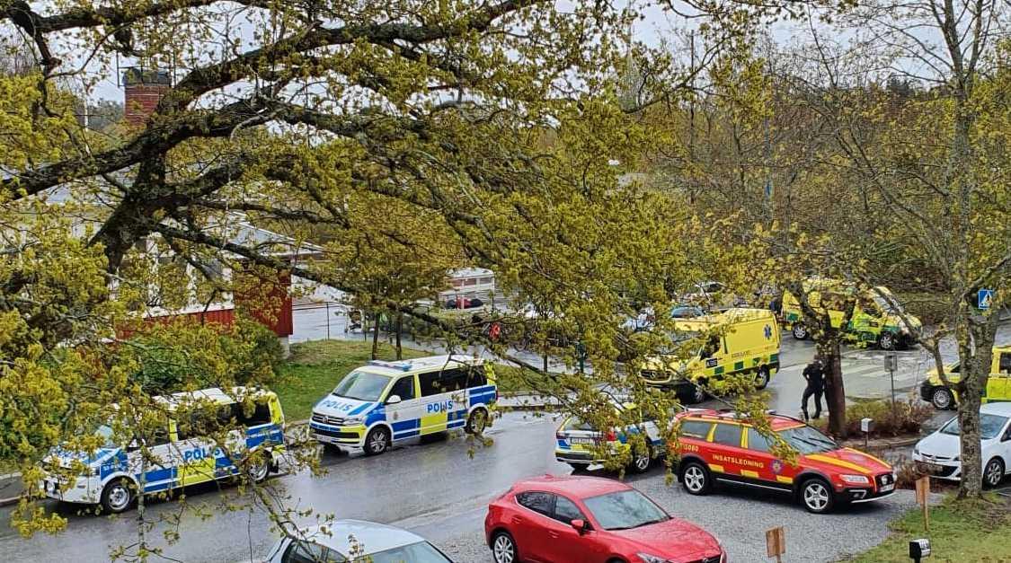Händelsen under onsdagen rubriceras som misstänkt grov mordbrand.