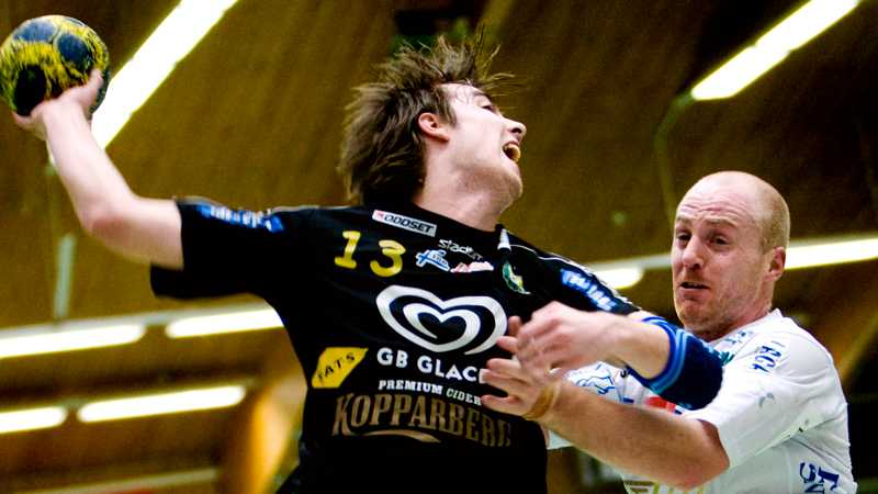 Sävehofs Marcus Tobiasson och Marcus Litborn, Trelleborg.