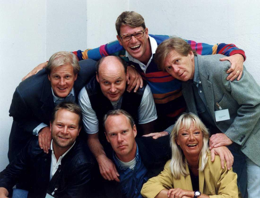 Artistgruppen Galenskaparna och After Shave. Bilden är från 1993.