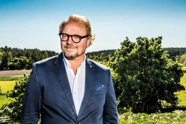 "Fredrik Lindström i ""Helt lyriskt""."