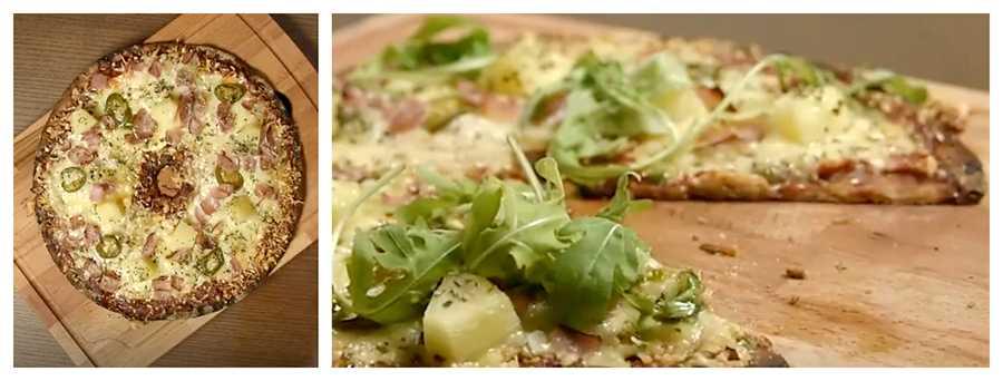 Knäckpizza – omtyckt av alla.