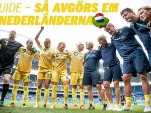Fotbolls EM 2017 damer – guide med tv-tider fda0a3fbfe20c