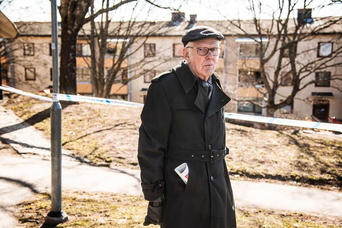 84-årige Bengt Duberg har bott i Sätra sedan området var nybyggt på 60-talet.