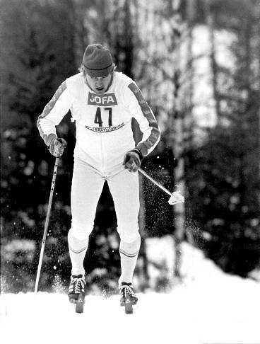 Thomas Magnusson vann VM -74 på plastskidor - träskidans död.