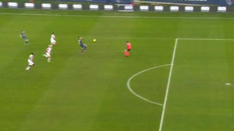 Tre minuter senare gjorde svensken 2-1 för PSG.