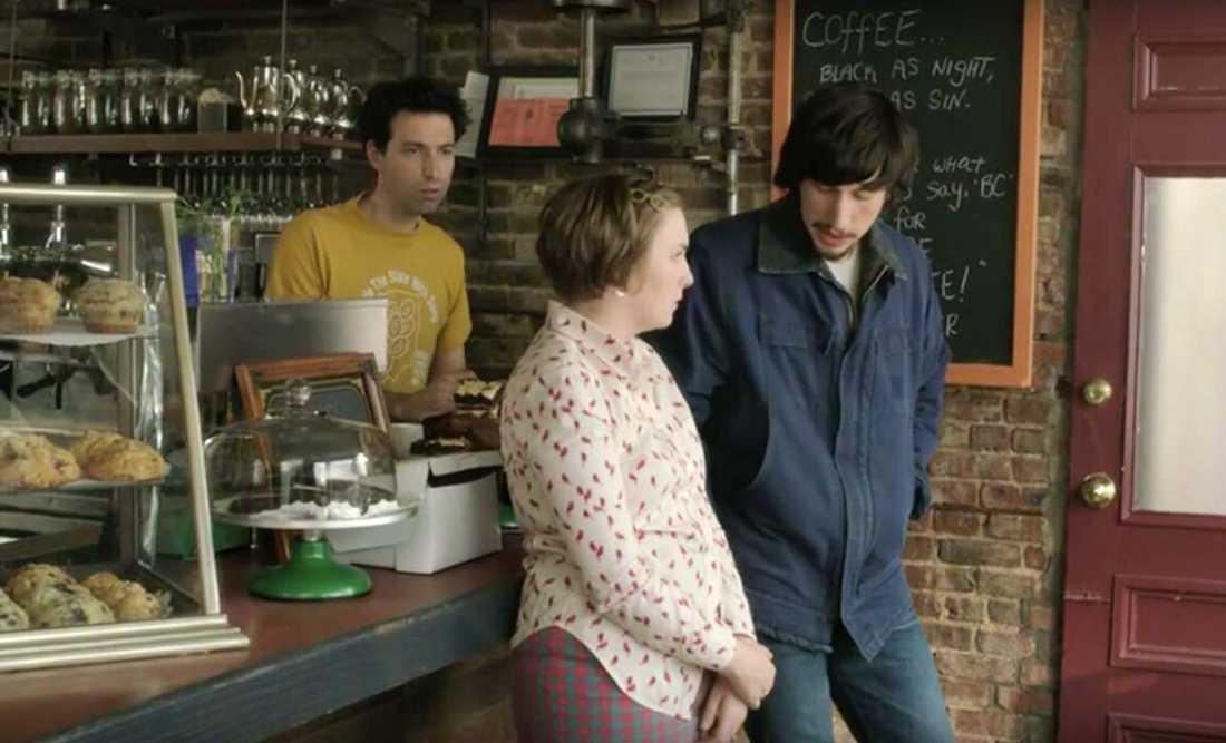 Huvudkaraktären Hannah i Girls arbetar en period på Café Grumpy som också finns på riktigt.