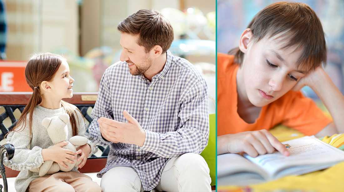 Barn blir mer intelligenta – om föräldrarna pratar mycket, enligt en ny studie.