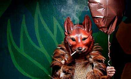 Räven vill erövra Tuppen i Stravinskys opera.