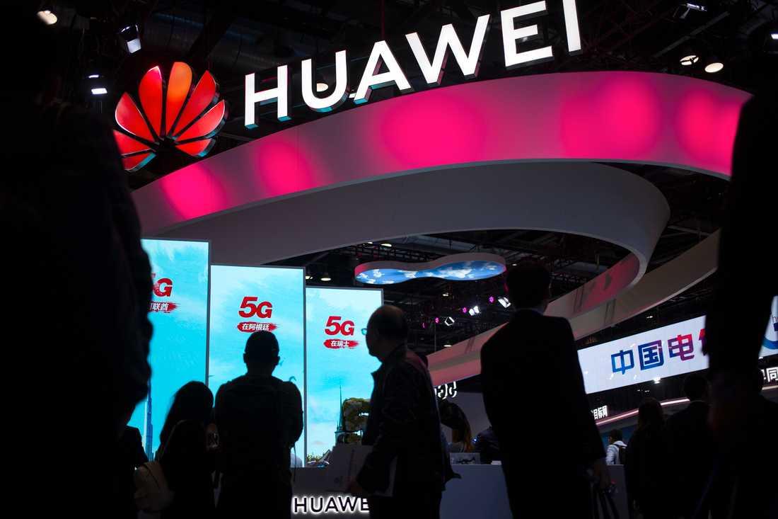Nytt domstolsbakslag för Huawei. Arkivbild