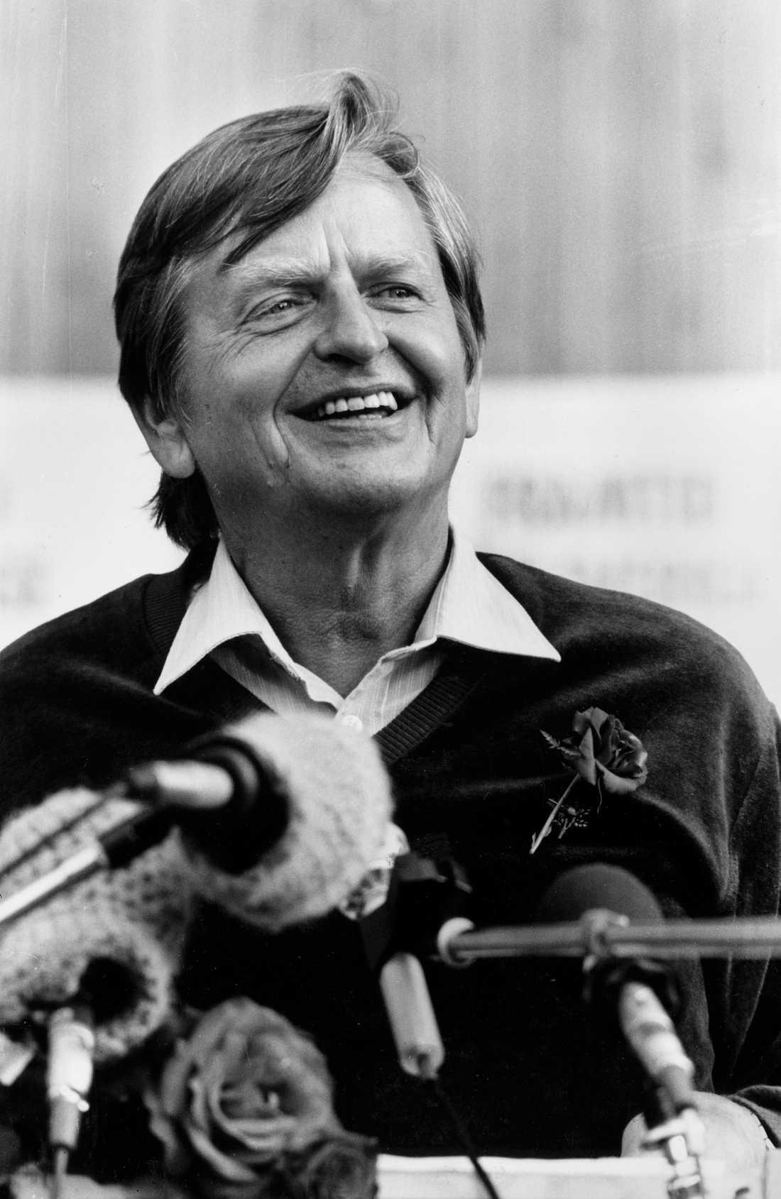 Olof Palme (S), var Sveriges statsminister 1969–76 och från 1982 till sin död 1986. Arkivbild.