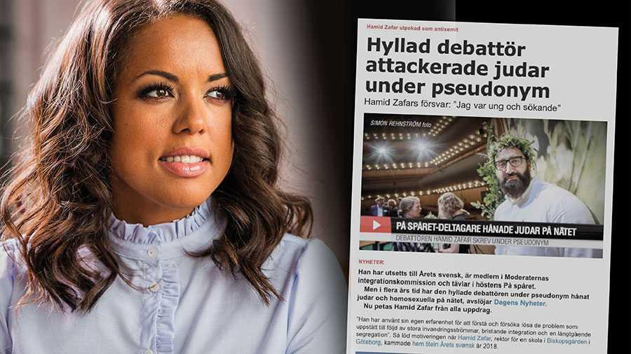 Hamid Zafar, tack för att du, om än oavsiktligt, visade en del av rasismen bland oss invandrare som svenskar inte sett. Jag hoppas folk ser nu, skriver Elaine Eksvärd.