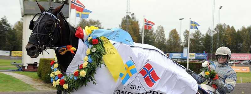 Får Adielsson segerdefilera med Francais du Gull igen? Tränaren Erik Lindegren nöjd inför dagens start.