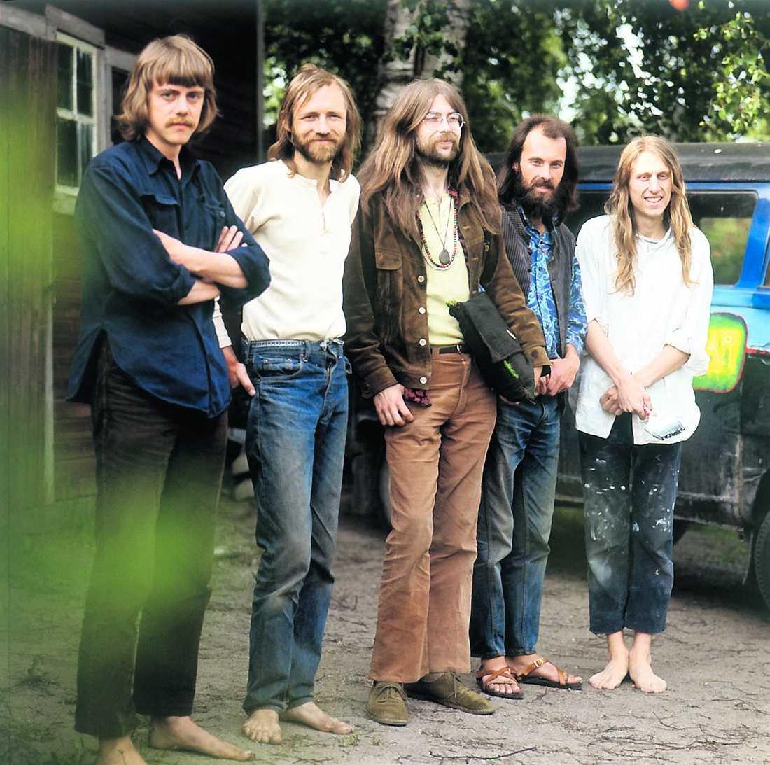 Bilden är från 1971 när gruppen var som störst.