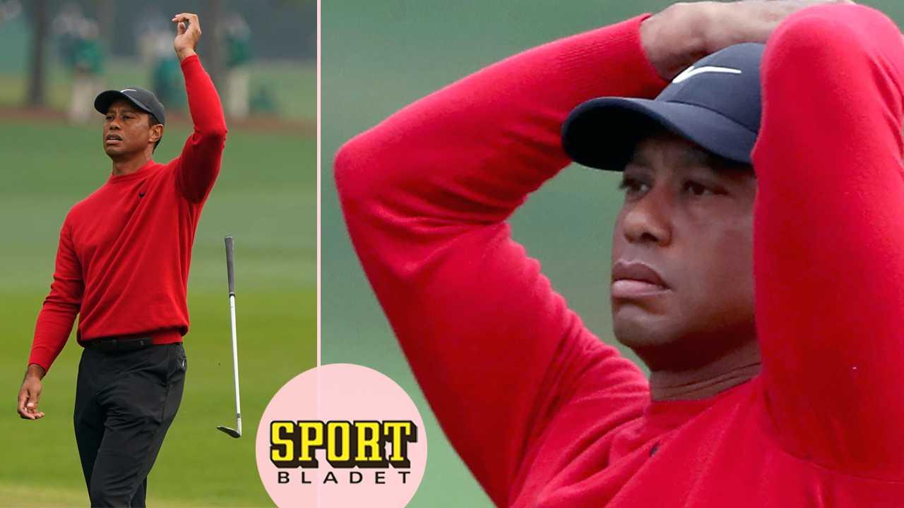 Mardröm för Tiger Woods på Augusta