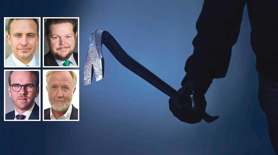 Alliansen är redo att ta krafttag mot mängdbrotten – de ska helt enkelt inte vara en del av vardagen, skriver Tomas Tobé, Johan Hedin, Andreas Carlson och Johan Pehrson.